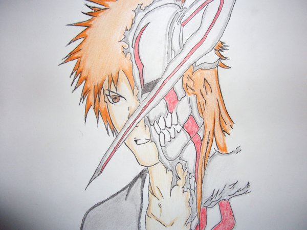 Ichigo hollow (BLEACH)