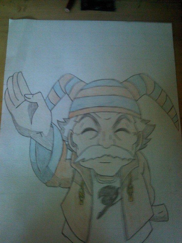 Le vieux (Makarof) - Fairy Tail