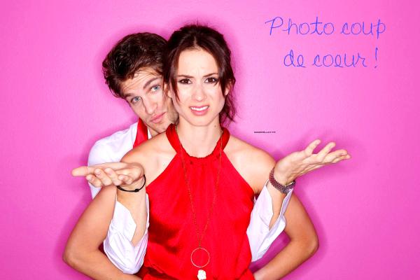 Nouvelles photos du photoshoot de Keegan et Troian, pour le magazine TROIX, en l'honneur de la St Valentin ! Joli couple n'est-ce pas ? ♥