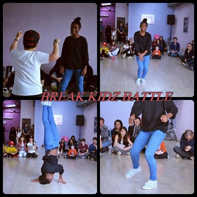 Bgirl Nissou - BREAK KIDZ BATTLE