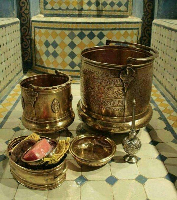 Accessoires de bain au Maroc (Hamame)