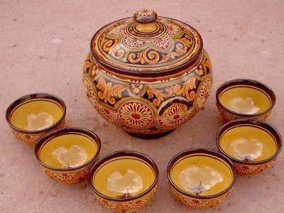 Magnifiques soupières marocaine