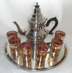 Magnifiques services de thé marocain