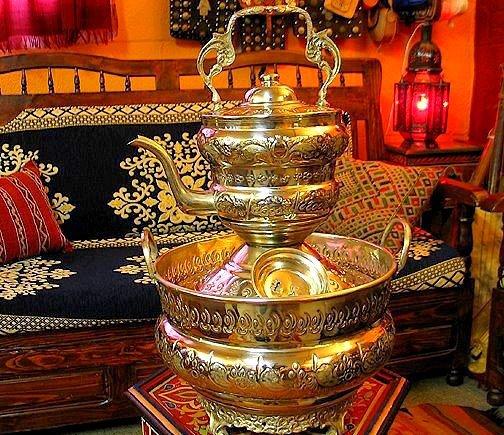 Magnifique lave main traditionnel marocain