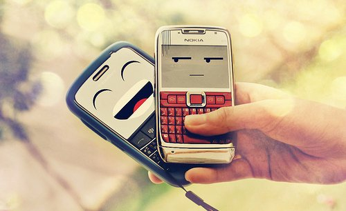 n0kia vs blacKberry haha o_O