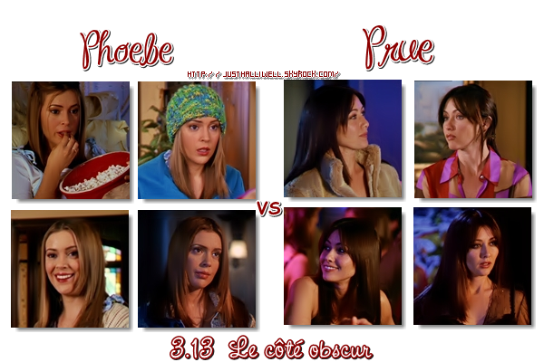 >> Article: Sondage - Prue VS Phoebe. Le côté obscur (Bride and gloom)