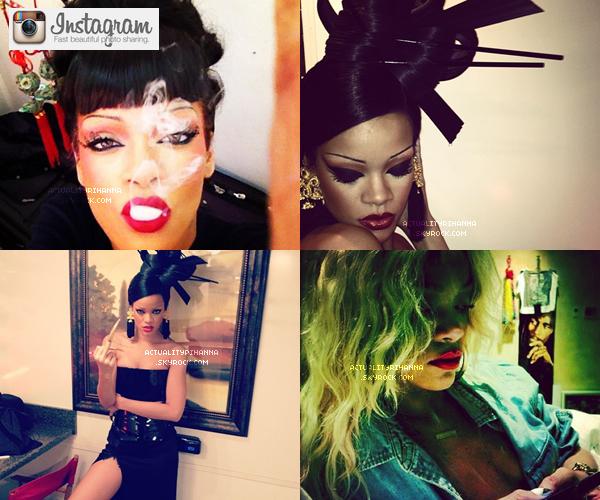 """. 23 MARS - Riri Fenty a été aperçue quittant le restaurant """"Giorgio Baldi"""" à Los Angeles. Top ou Flop ?Puis le même jour Rihanna était sur le set du clip """"Princess of China"""" en featuring avec Coldplay. Magnifique !."""