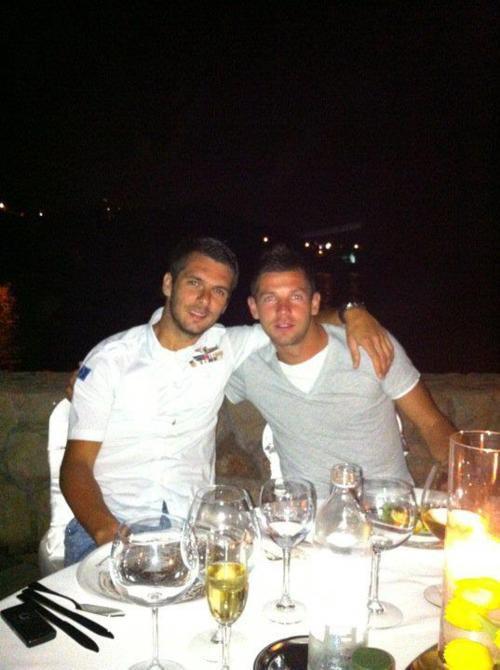Amir Spahic , Emir Spahic & Edin Dzeko :D