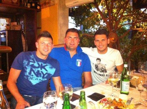Amir Spahic , Emir Spahic & Edin Dzeko (suite )