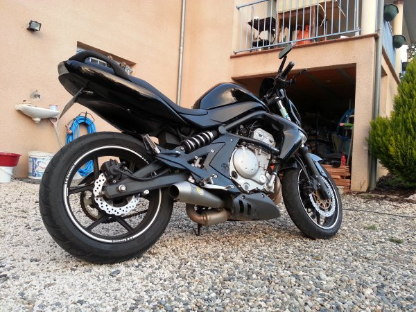 Ma moto, plus qu'une passion.