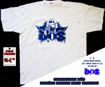 Les t-shirts DÖS sont dispos sur le terter et par VPC, hésitez pas à commander pour cet été!!!