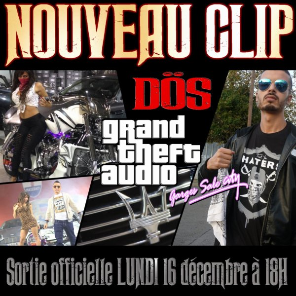 "Nouveau clip ""GTA - Garges Sale City"""