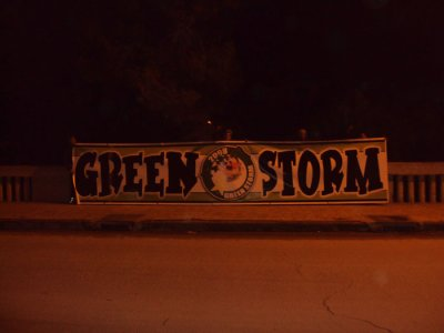 ULTRAS GREEN STORM GCM MASCARA