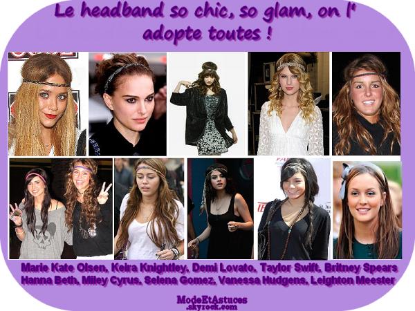 Article 1 : Le headband !