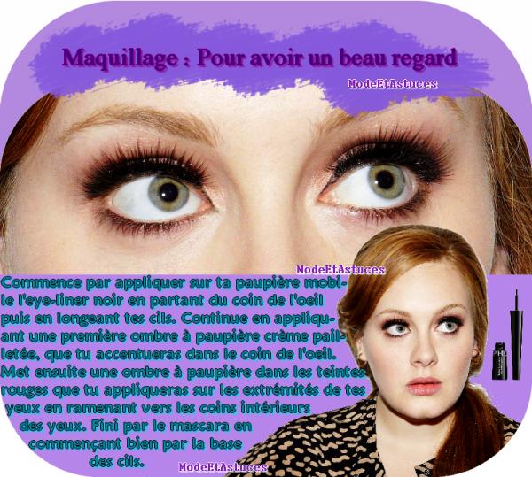 Article4 : Maquillage : pour avoir un beau regard