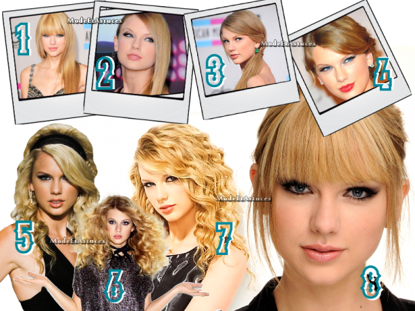 Article 8 : Coiffures de Taylor Swift