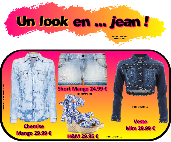 Article 16 : Un look en jean !