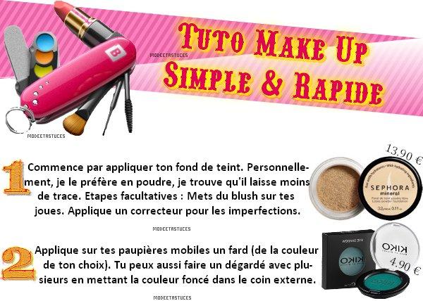 Article 25 : Tuto Make Up