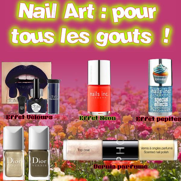 Article 37 : Nail Art pour tous les goûts !