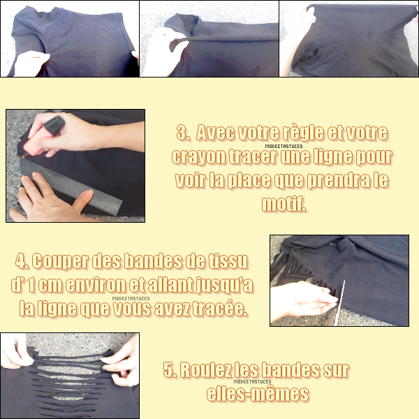 Article 47 : DIY : Couper un T-shirt