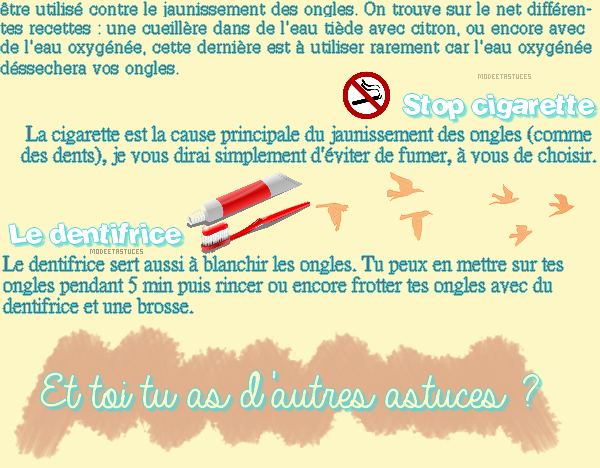 Article 49 : [Lutter contre n°1] : Les ongles qui jaunissent