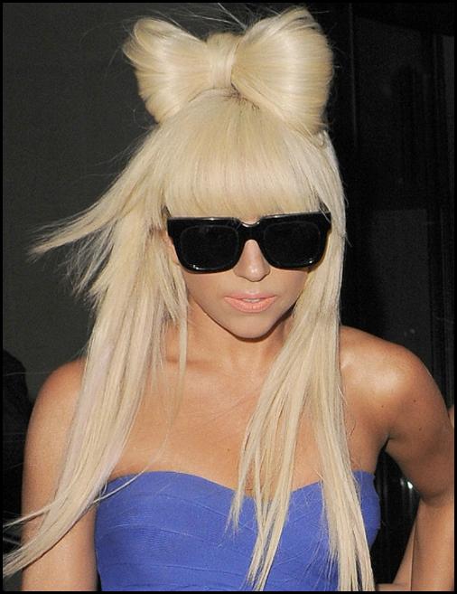 Chignon noeud à la Lady Gaga
