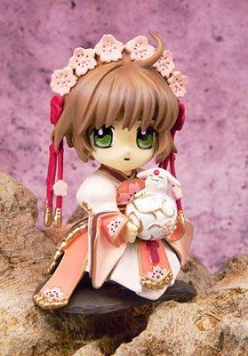 Figurine Sakura & Mokona