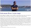 Article paru le 16 Novembre 2010 dans la Manche Libre