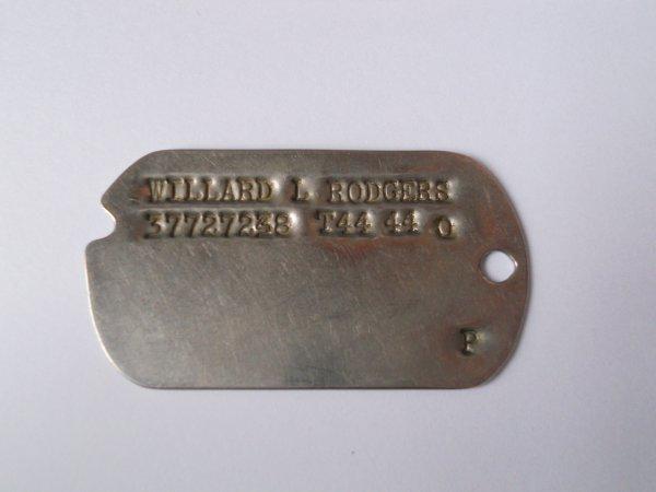 WILLARD L RODGERS 37727238