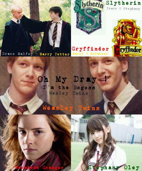 Sommaire : Oh My Dray ! I'm the Bogoss ! (Weasley Twins)