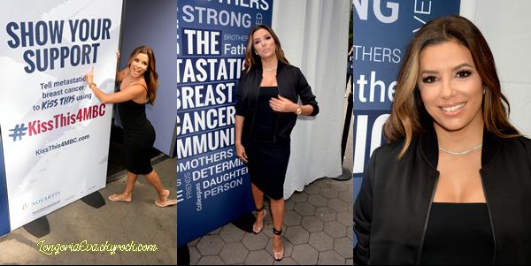 15/09/17 : Eva était présente à l'événement #KissThis4MBC, à - New-York. Traduction faite par mes soins, merci de ne pas y toucher. [/font=Arial]