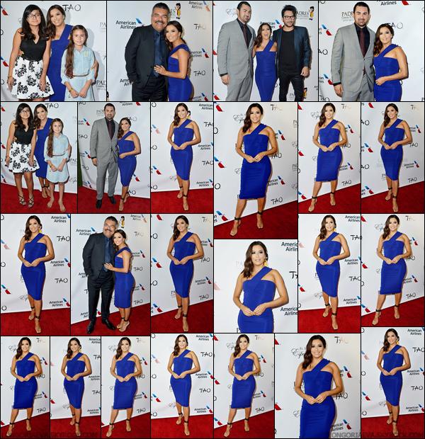 24/09/17 : Evaétait présente au gala « Padres Contra El Cancer » à Los Angelesen - Californie. Je trouve la tenue que porte Eva est vraiment magnifique.