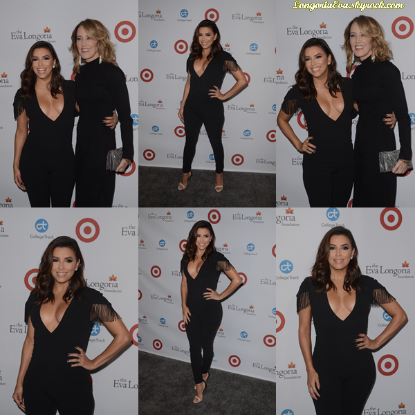 12/10/17 : Eva s'est rendue au gala annuel de la fondation Eva Longoria qui a lieu à  Beverly Hills  - Californie. Eva portait une sublime tenue noire avec un décolleté qui lui va à merveilles. TOP ![/font=Arial]