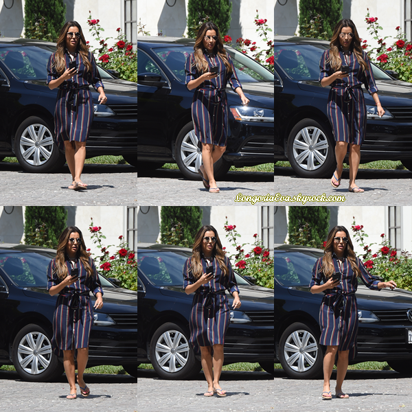 07/07/17 : Eva quittait ses amis à Los Angeles , en - Californie. J'accorde un gros top pour la tenue sans hésitation car elle est vraiment trop belle !