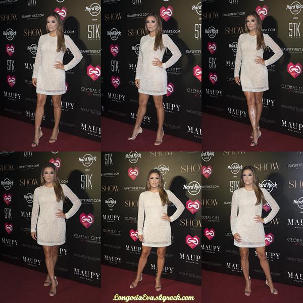 21/07/17 : Eva était présente au « The Global Gift Gala » à Ibiza , en - Espagne. Concernant sa tenue, elle portait une robe de couleur clair, je lui accorde un top.