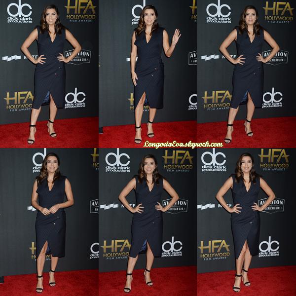 05/11/17 : Eva assistait à la « 21e Cérémonie Hollywood Film Awards » à Los Angeles , en - Californie. Elle était juste sublime lors de cette soirée, un gros top !