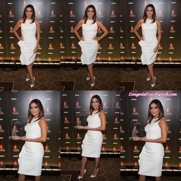 18/01/17 : Eva à la remise de prix NATPE Brandon Tartikoff Legacy Los Angeles.