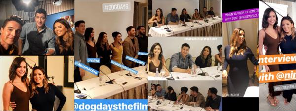 04/08/18 : Eva se trouvait à la conférence de presse du film Dog Days à LA , en - Californie. Ne voyant pas trop la tenue je n'ai aucun avis sur mais Eva à l'air heureuse c'est le principal.
