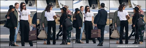 28/09/18 : Eva quittant Paris en compagnie de Victoria Beckham. Très peu de photos disponibles encore une fois mais c'est un top.