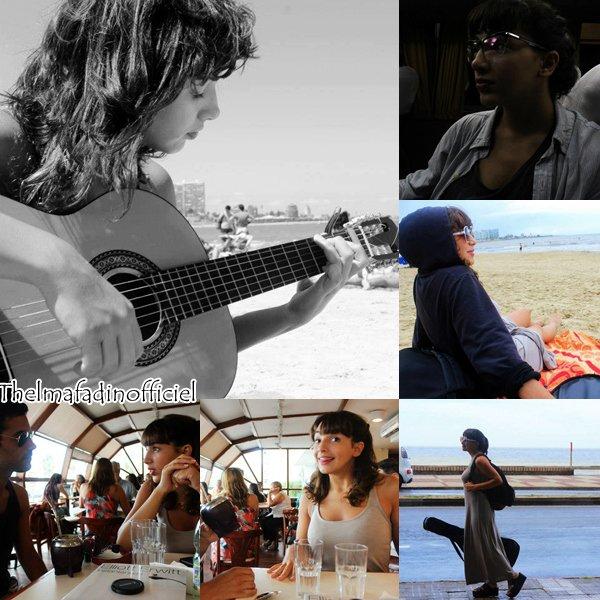 Photos de Thelma lors de son séjour en Uruguay