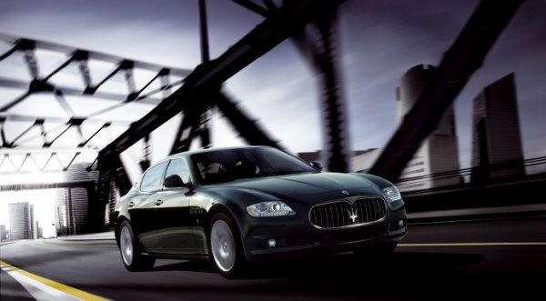 Maserati quatroporte noir