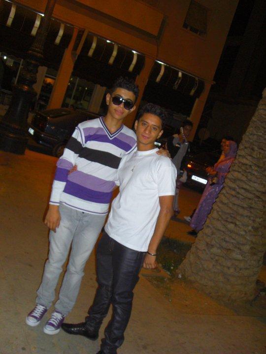 Moi Et Abdou laghzal