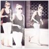 28/03/12 : Miley quittant une nouvelle fois son cours de pilate dans West Hollywood.