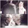 25/03/12 : Nos deux amoureux dans les rues de Studio City, en Californie.