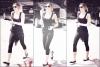 12/04/12 : Miley quittant son cours de pilate à West Hollywood.