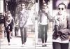 19/03/12 : Miley allant déjeuner avec ses amis Cheyne et Jen, à Studio City.