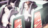 04/05/12 : Miley au parc Disneyland avec son amie Jen Talarico à Anaheim.