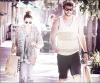 10/05/12 : Miley faisant du shopping avec son chéri à Studio City.