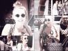 23/05/12 : Miley et Trace allant se faire tatouer chez Manny Pacquiao Tatoo à Hollywood.