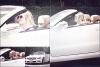 06/07/12 : Miley a été aperçue au volant de sa superbe décapotable à Los Angeles.